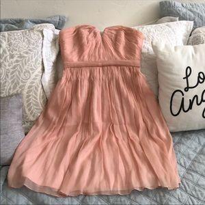J Crew | Strapless Nadia Coral Bridesmaid Dress 4